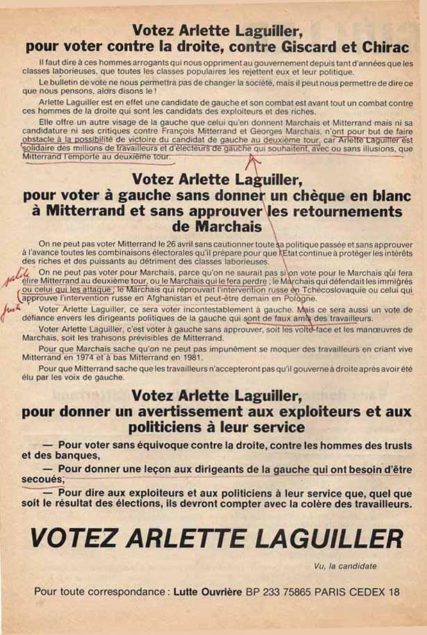 vote sans candidat