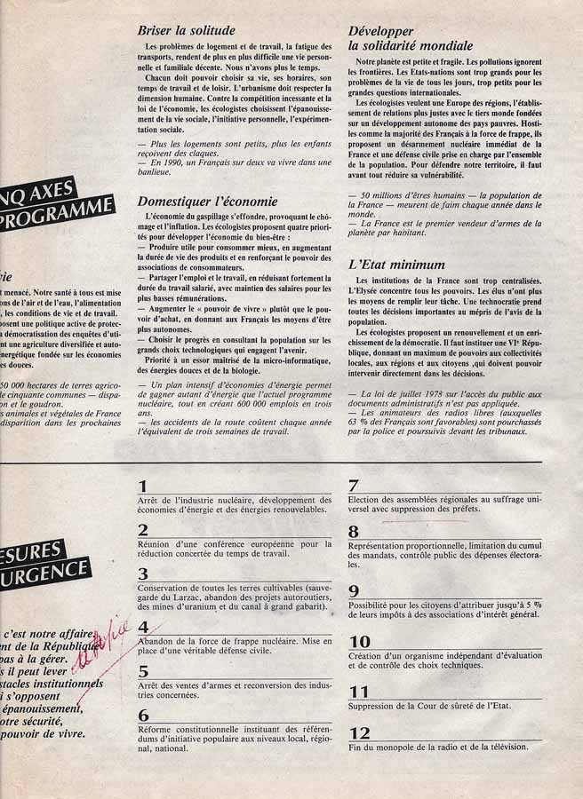 programme front national présidentiel