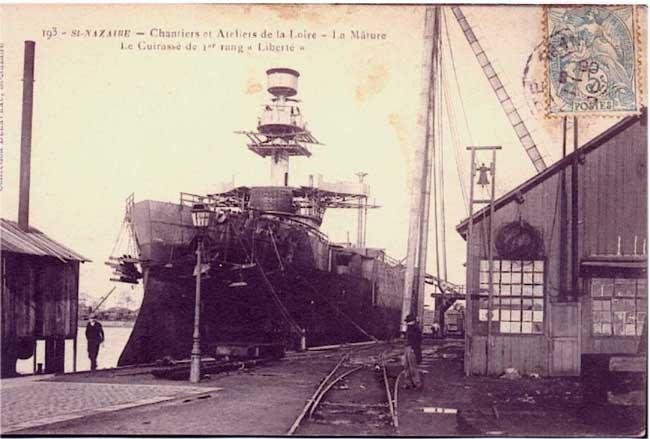 lancement voilier 4 mat alexandre 1902